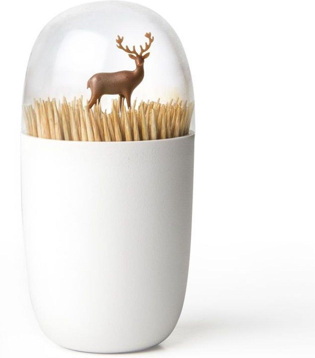 Qualy cocktailprikkerhouder hert Deer Meadow kopen