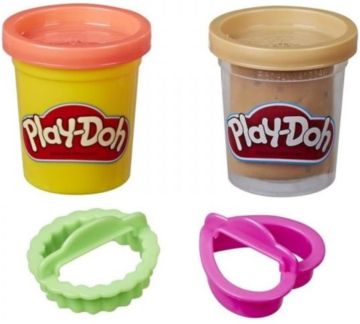 Play-doh Kitchen Creations Klei Junior Rood/bruin 4-delig