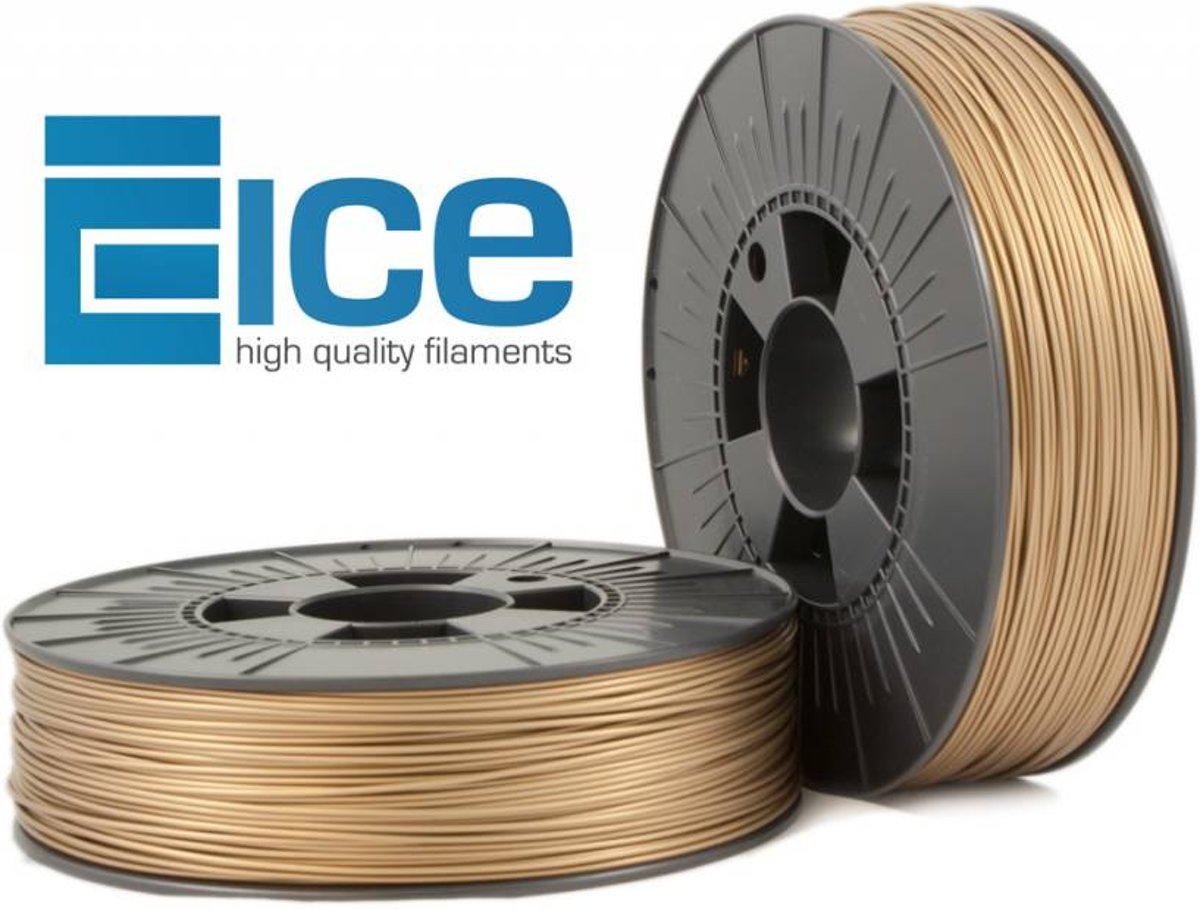 ICE Filaments PLA 'Groovy Gold'