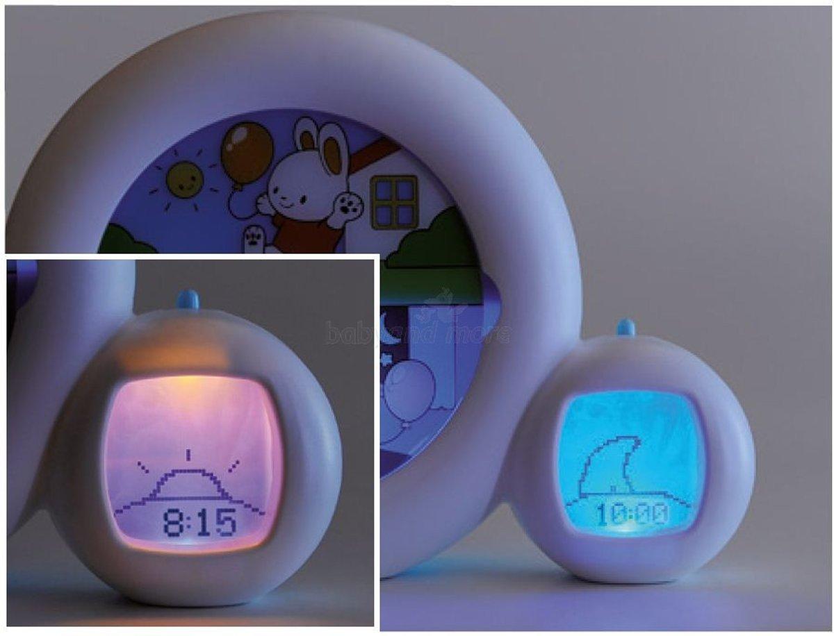 Kinderwekker Met Licht : Bol kidsleep moon nachtlampje slaaptrainer met muziek