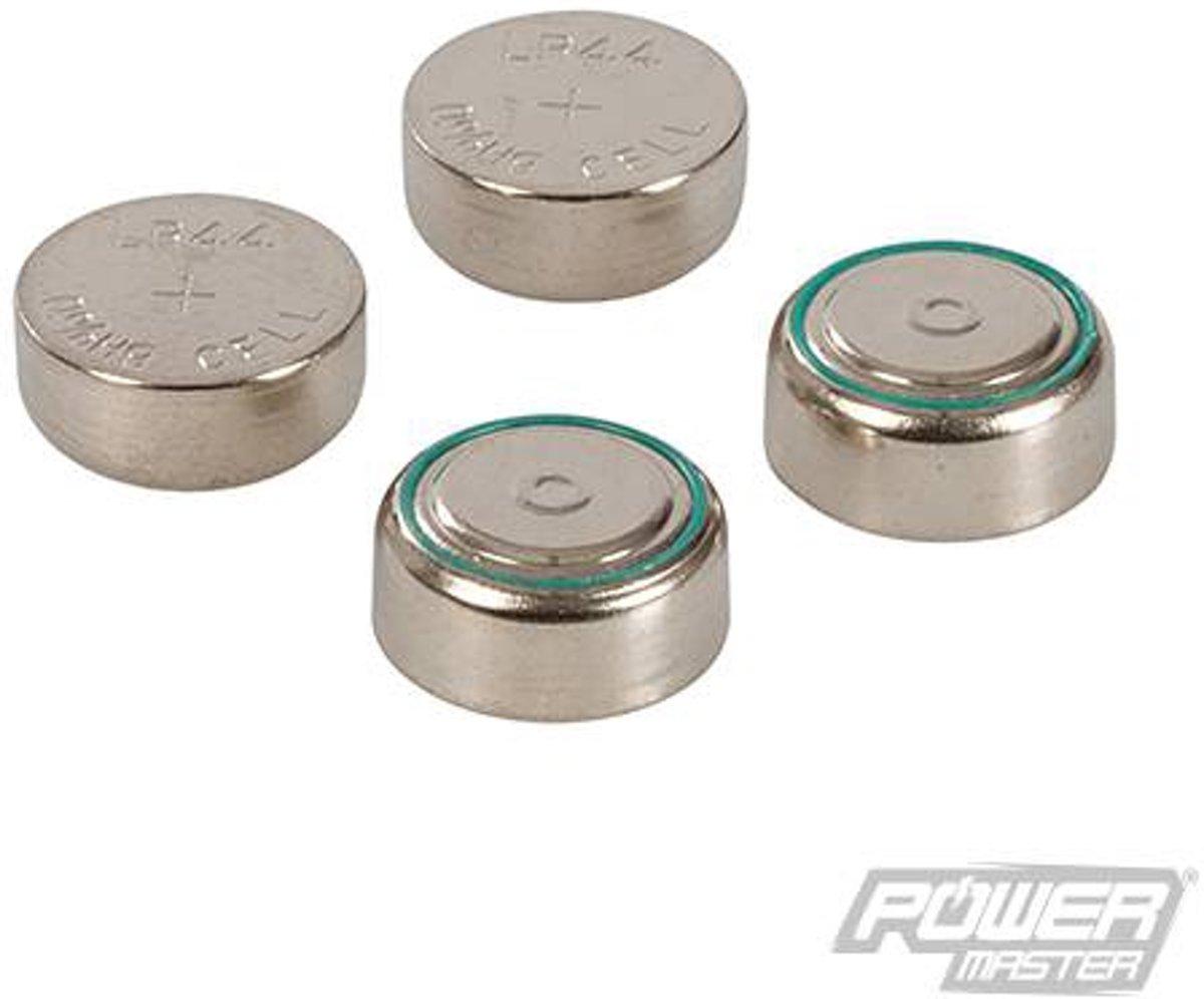 Alkaline knoopcel batterij LR44, 4 pk.