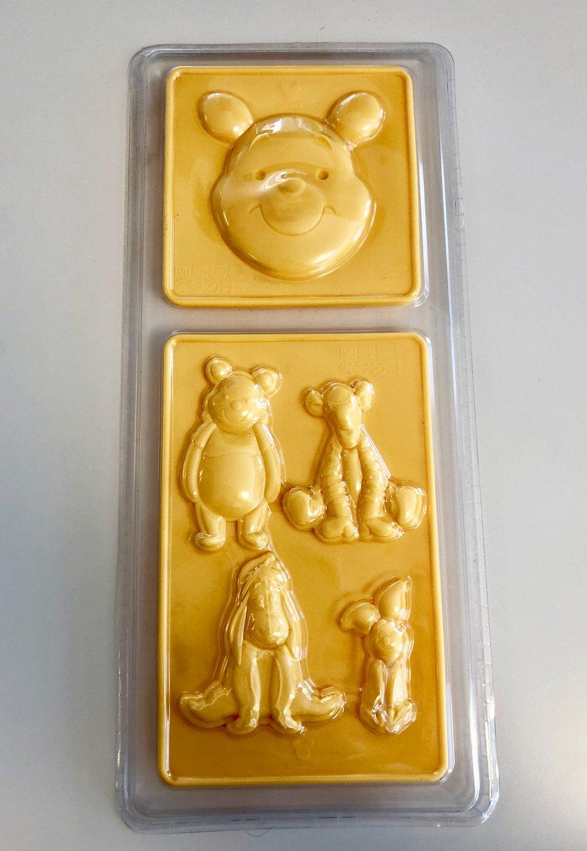Chocolade fondant mal - geel - siliconen - Winnie the pooh kopen