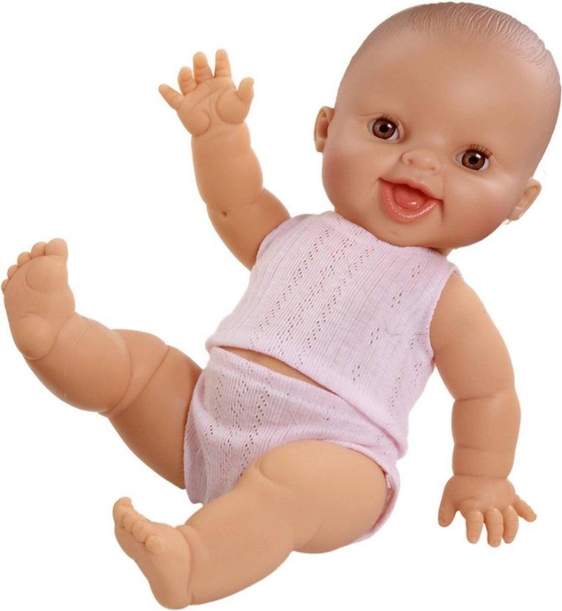 Paola Reina pop Gordi lachend meisje met ondergoed pop babypop