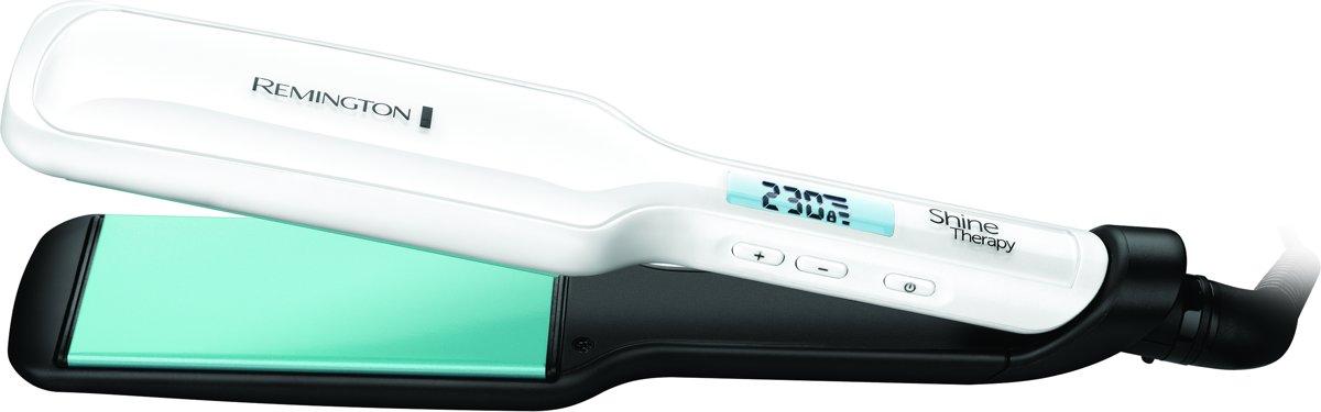 S8550 Shine Therapy Brede platen voor dik en lang haar - Stijltang