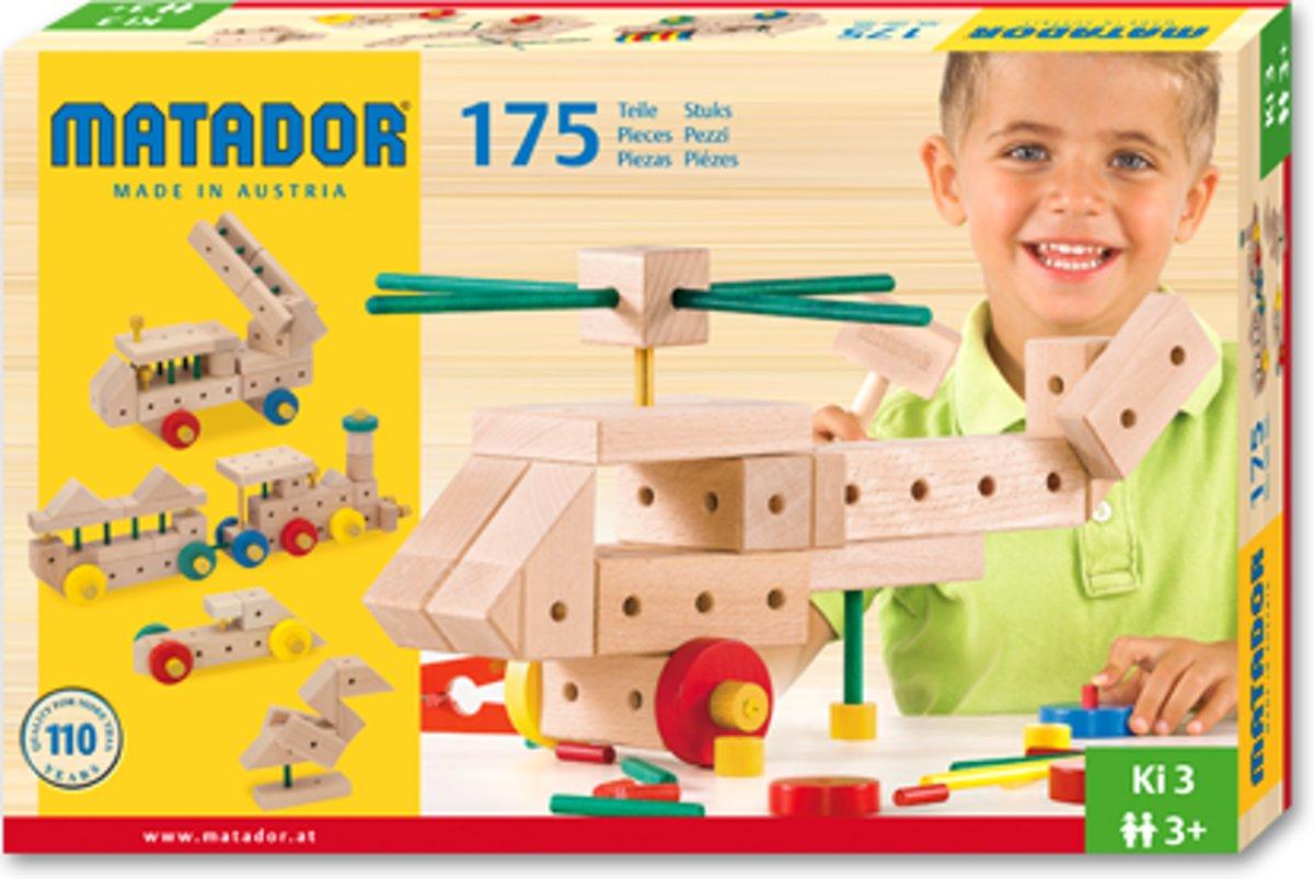 Matador Maker 3+ 175-delig Ki3 Bouwdoos