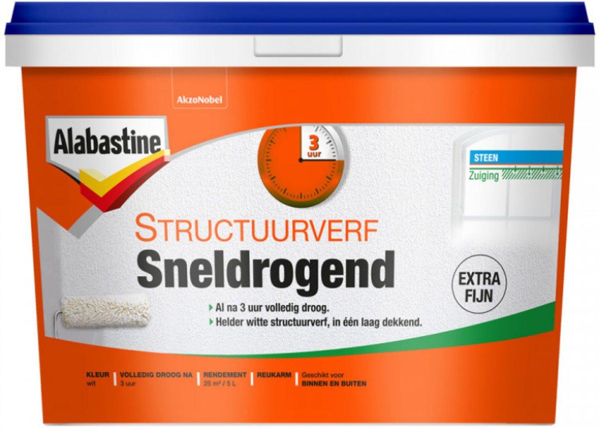 Alabastine Structuurverf 5 liter