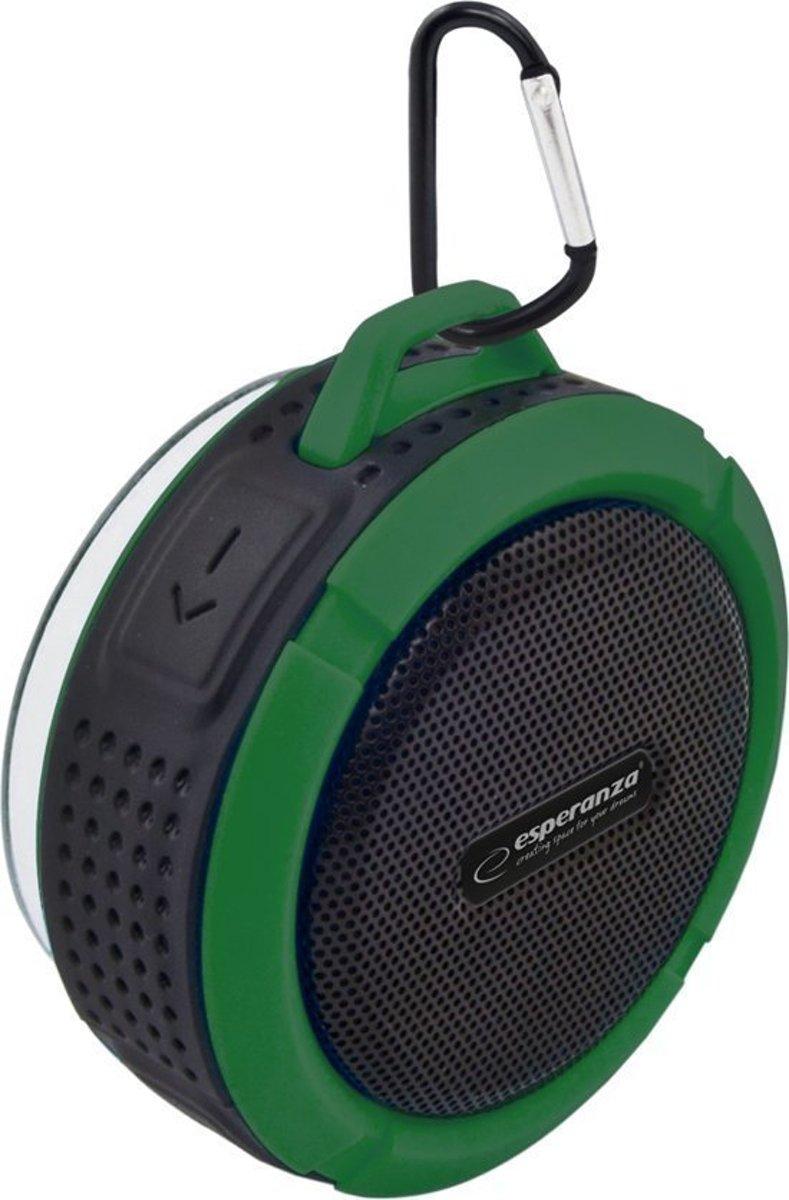 Bluetooth Speaker Waterproof Mini voor Douche, Ingebouwde Mic, Hands-free Bellen Auto – Groen Zwart kopen