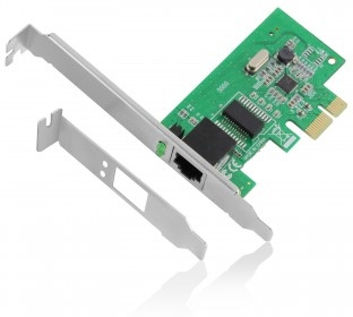 Image of Eminent 10/100/1000Mbps PCI-e Network Adapter (EM4029) (8716065312201)