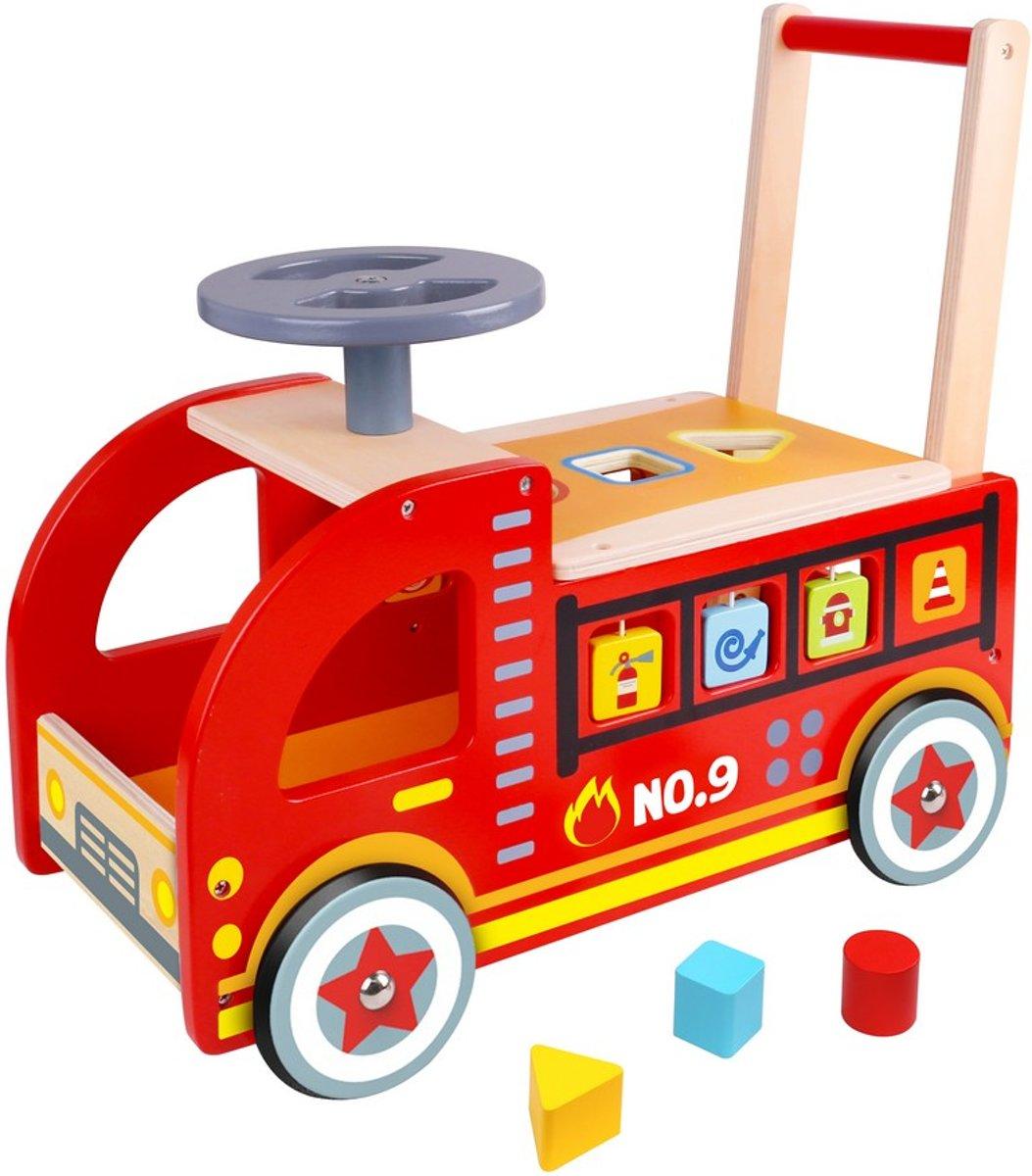 Brandweerauto Zit en Loop
