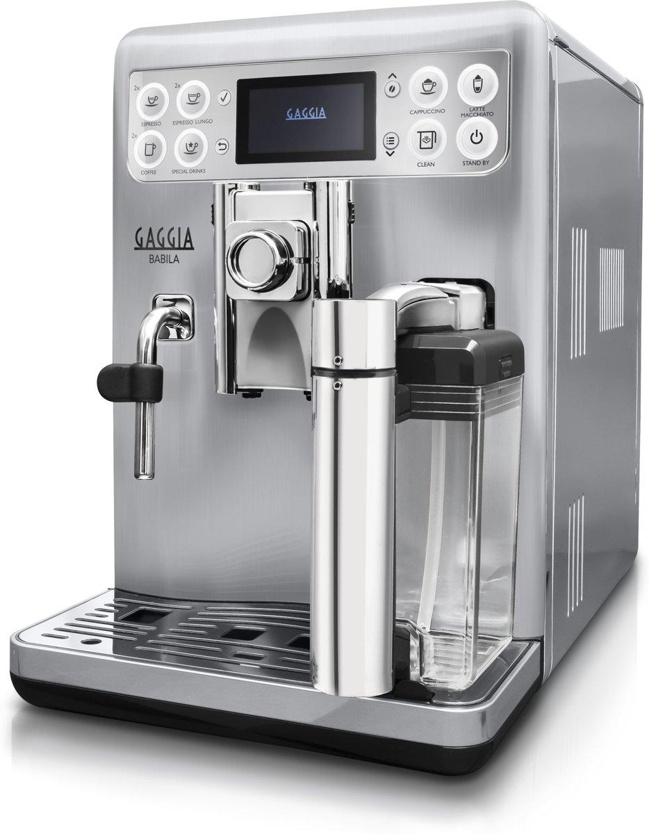 Gaggia Babila RI970060 Volautomaat Espressomachine Roestvrijstaal