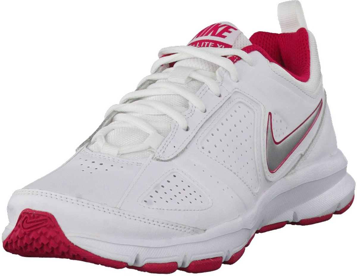 Nike T-Lite XI  - Fitnessschoenen - Vrouwen - Maat 38 - Wit/ Roze