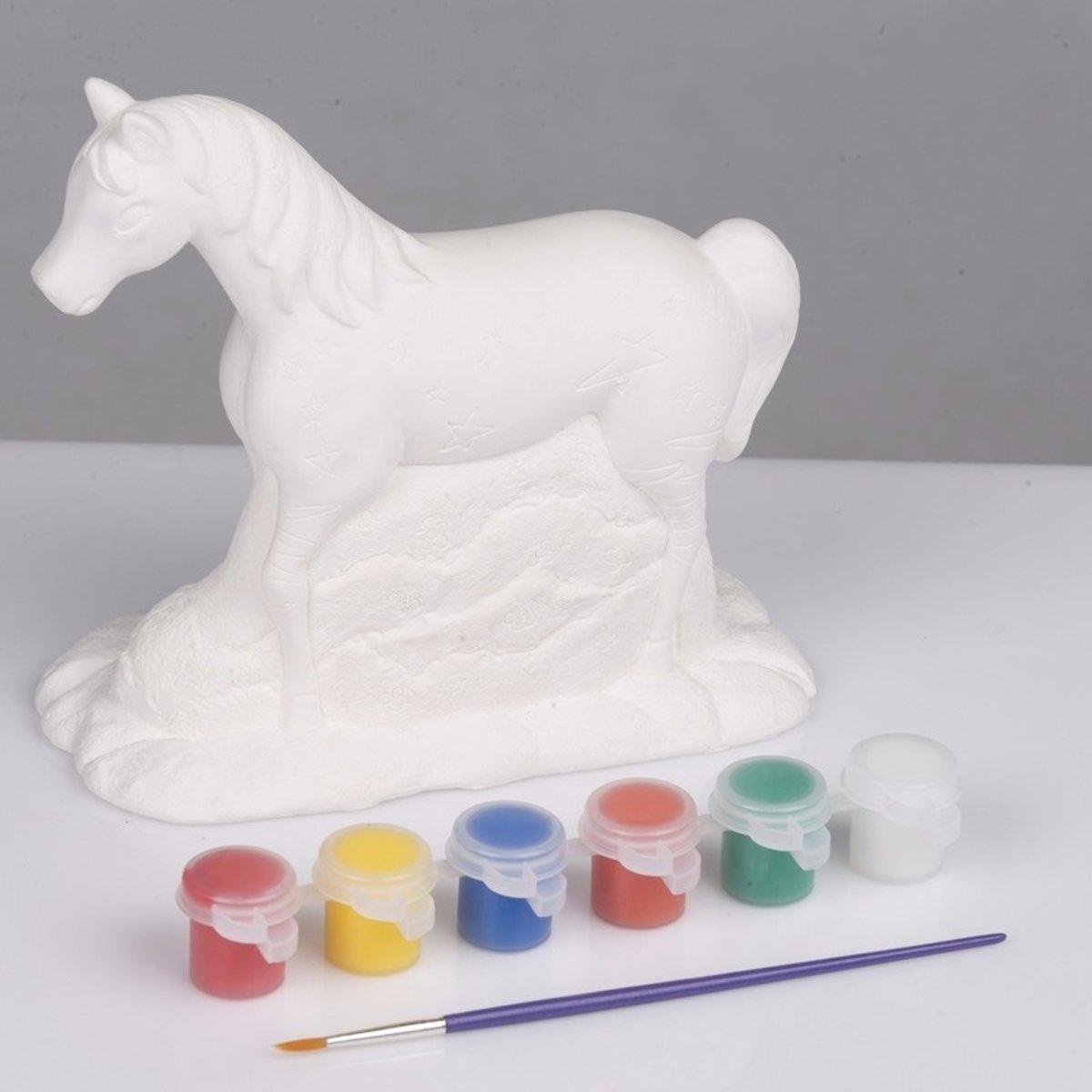 Knutsel set paard schilderen type 1 kopen
