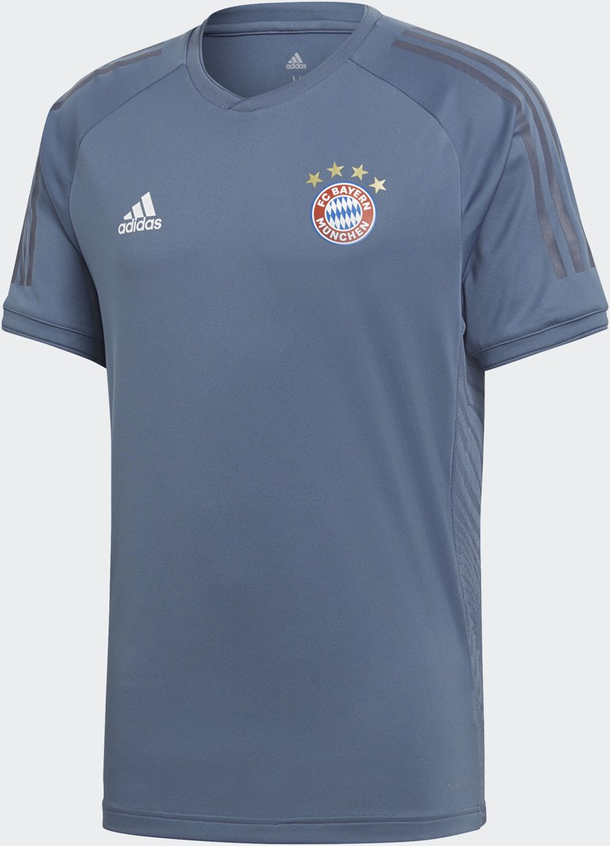 adidas Bayern Munchen Trainingshirt 2018/2019 Heren - Raw Steel S18 - Maat M