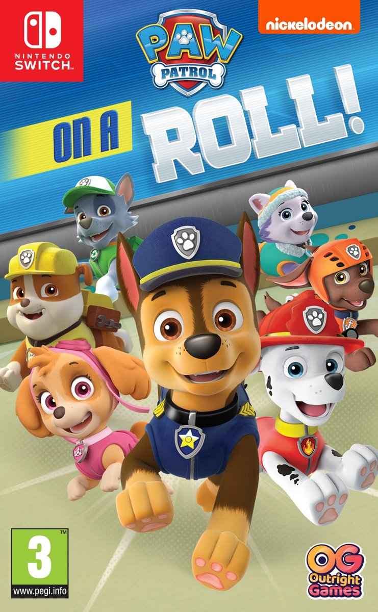 Paw Patrol - On A Roll Switch
