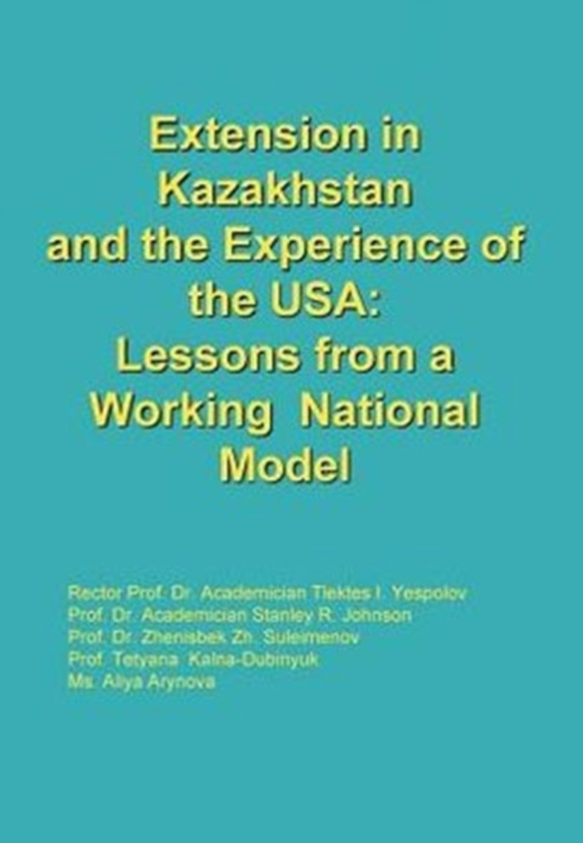   Extension in Kazakhstan and the Experience of the