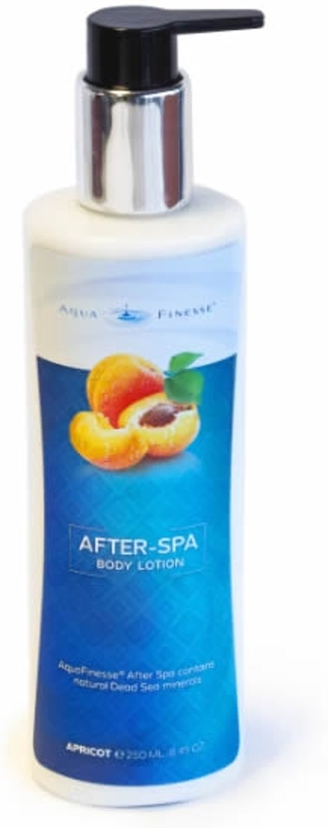 AquaFinesse After-Spa body lotion abrikoos