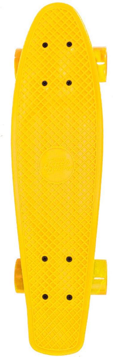 Skateboard Streetsurfing single yellow 57 cm/ABEC7 kopen