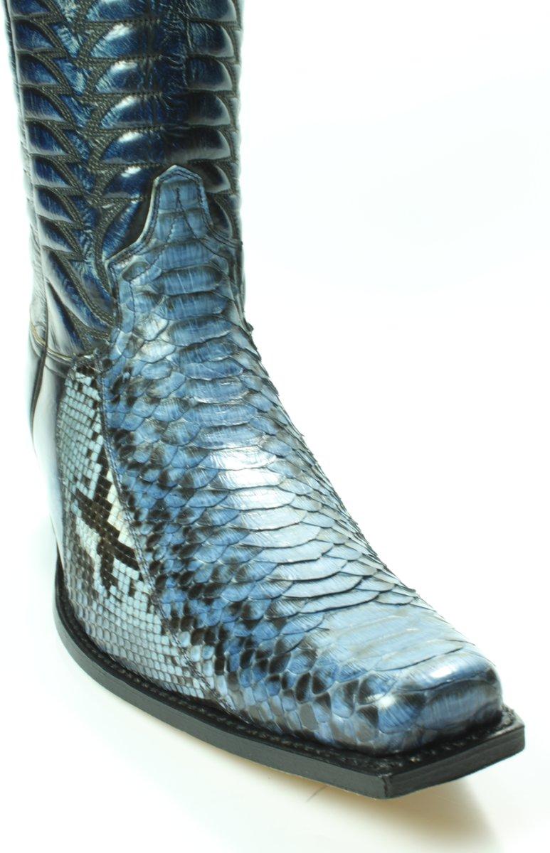 Sendra 5907 Python Jagger Blauw Maat 41