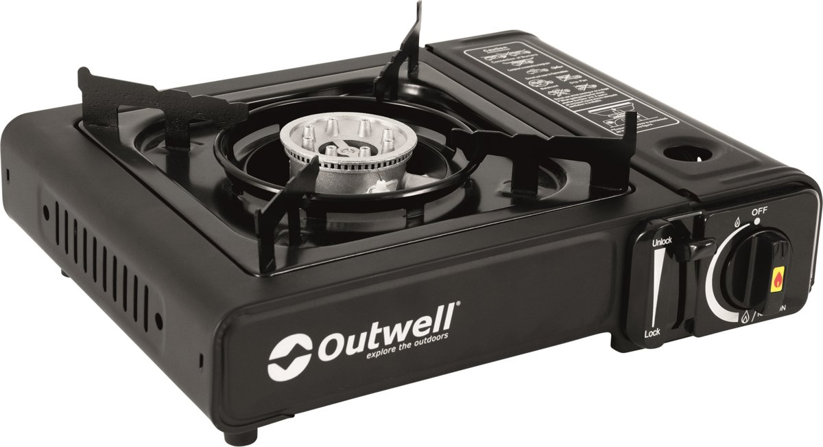 Outwell Gas Burner Appetizer Select Campingkooktoestel - Black kopen