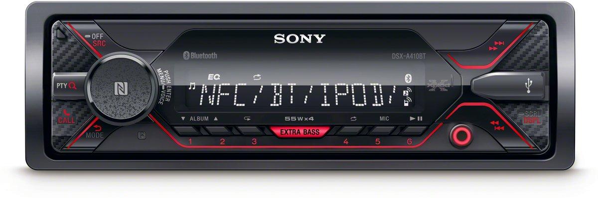 Sony DSX-A410BT - Autoradio enkel DIN - USB voor €49