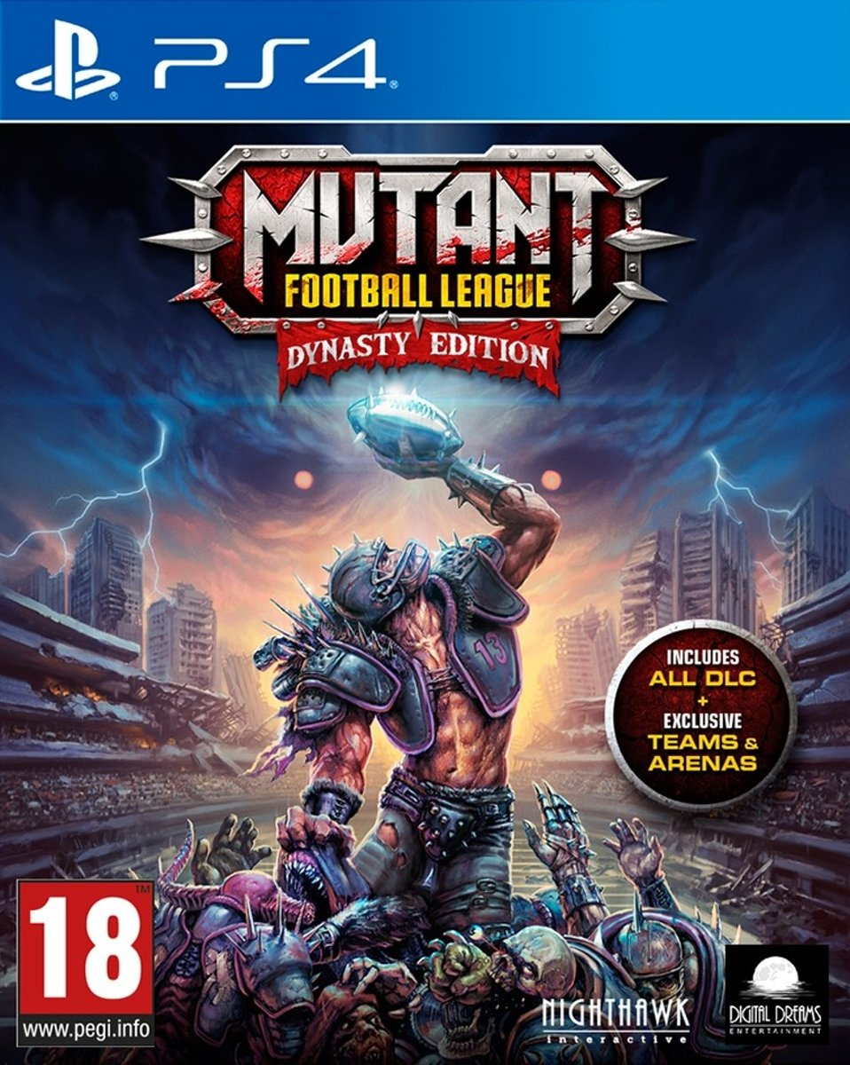 Mutant Football League - Dynasty Edition PlayStation 4