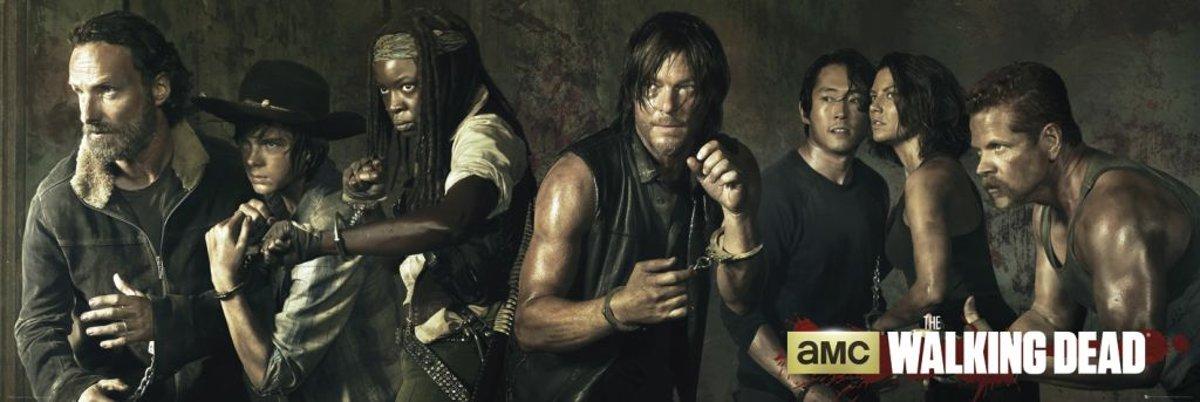 Walking Dead  - Poster 158 x 53 cm kopen