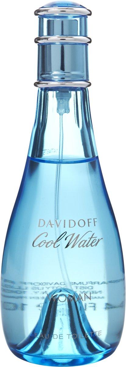 Davidoff Cool Water 100 ml - Eau de toilette - for Women thumbnail