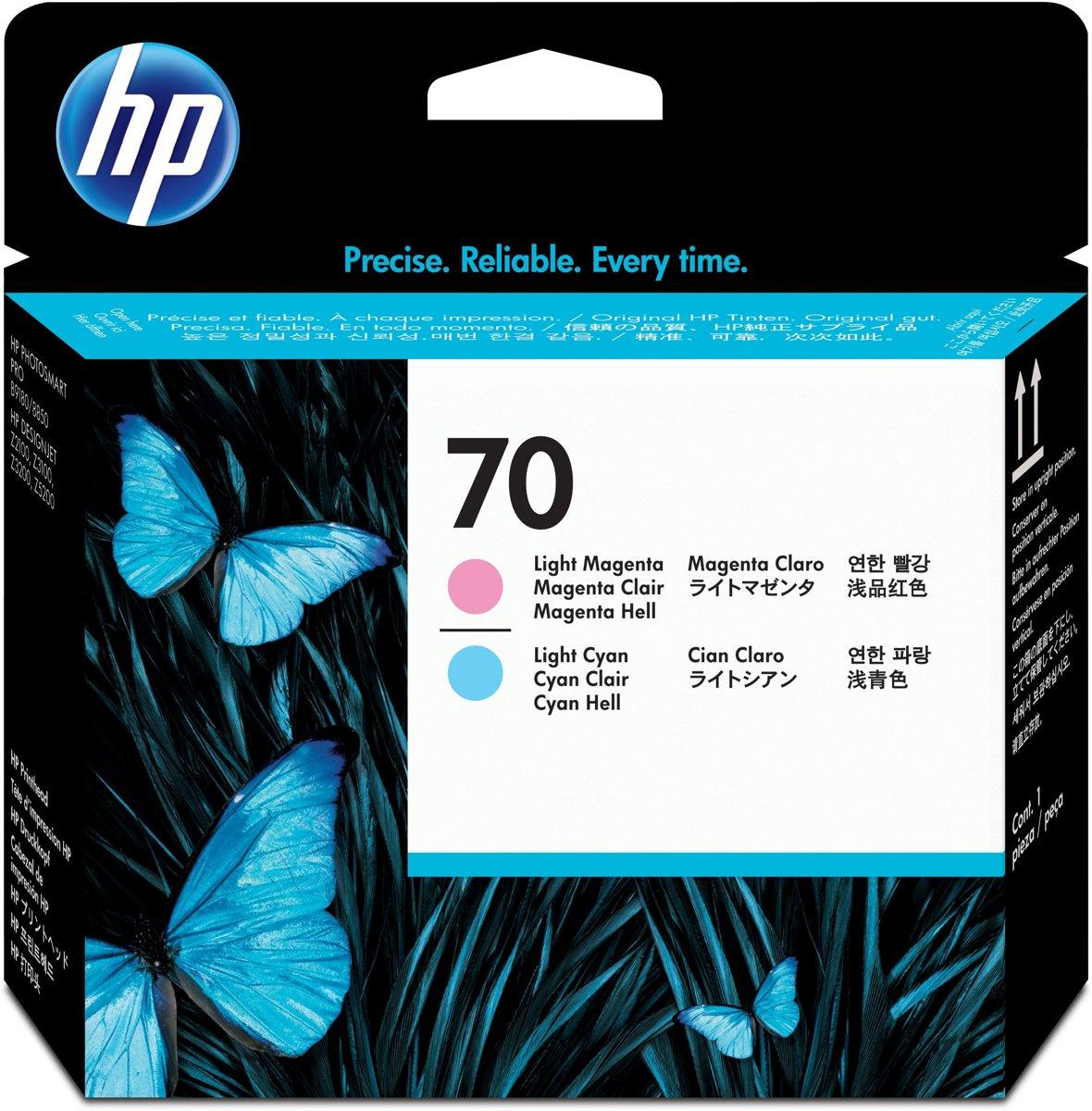 HP 70 - Printkop / Licht Magenta / Licht Cyaan (C9405A)