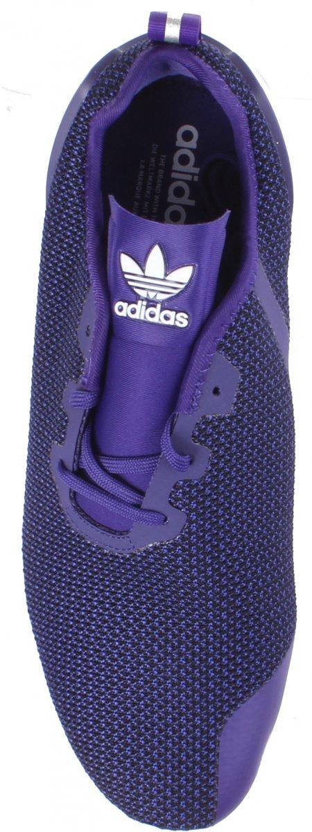 Baskets Adidas Zx Flux Adv Hommes Asymétriques Violet Vt51D