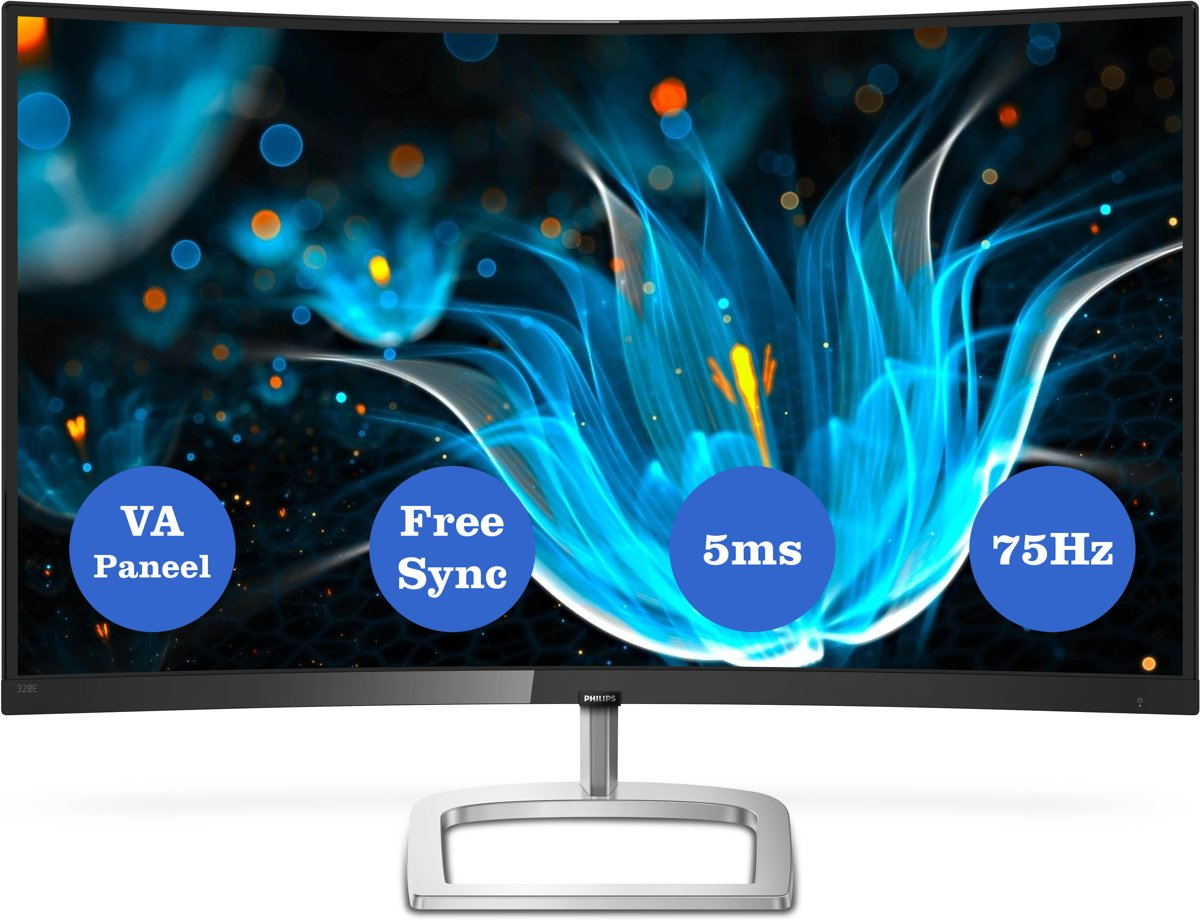 Philips 328E9FJAB - Curved WQHD Monitor