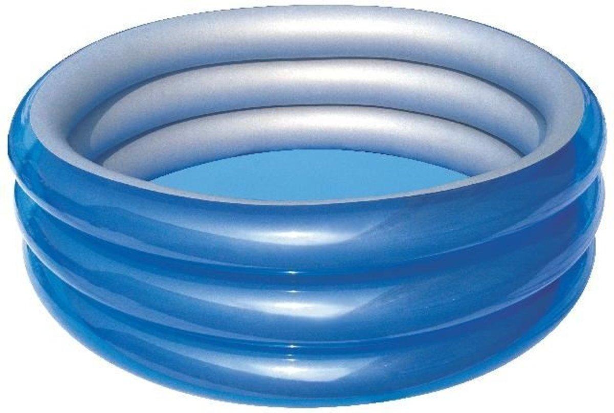 Bestway Kinderzwembad Big Metallic 201 X 53 Cm Blauw