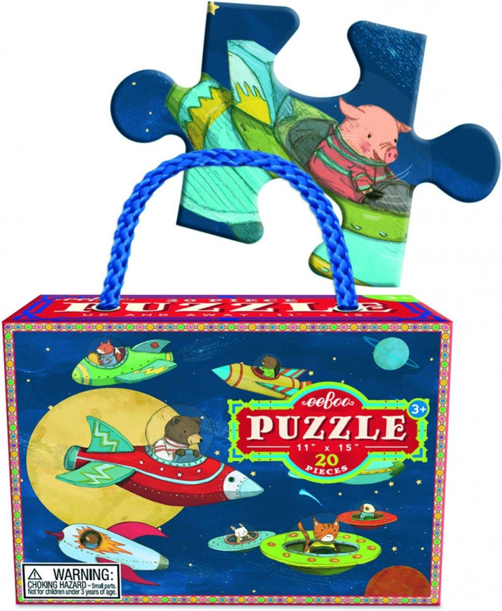 Eeboo Puzzel up and away 20 stukjes kopen