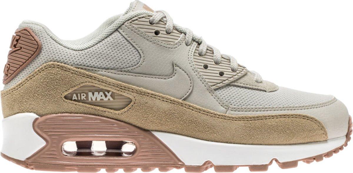 Nike Nike Air Max 90 Premium CrèmeWit Dames