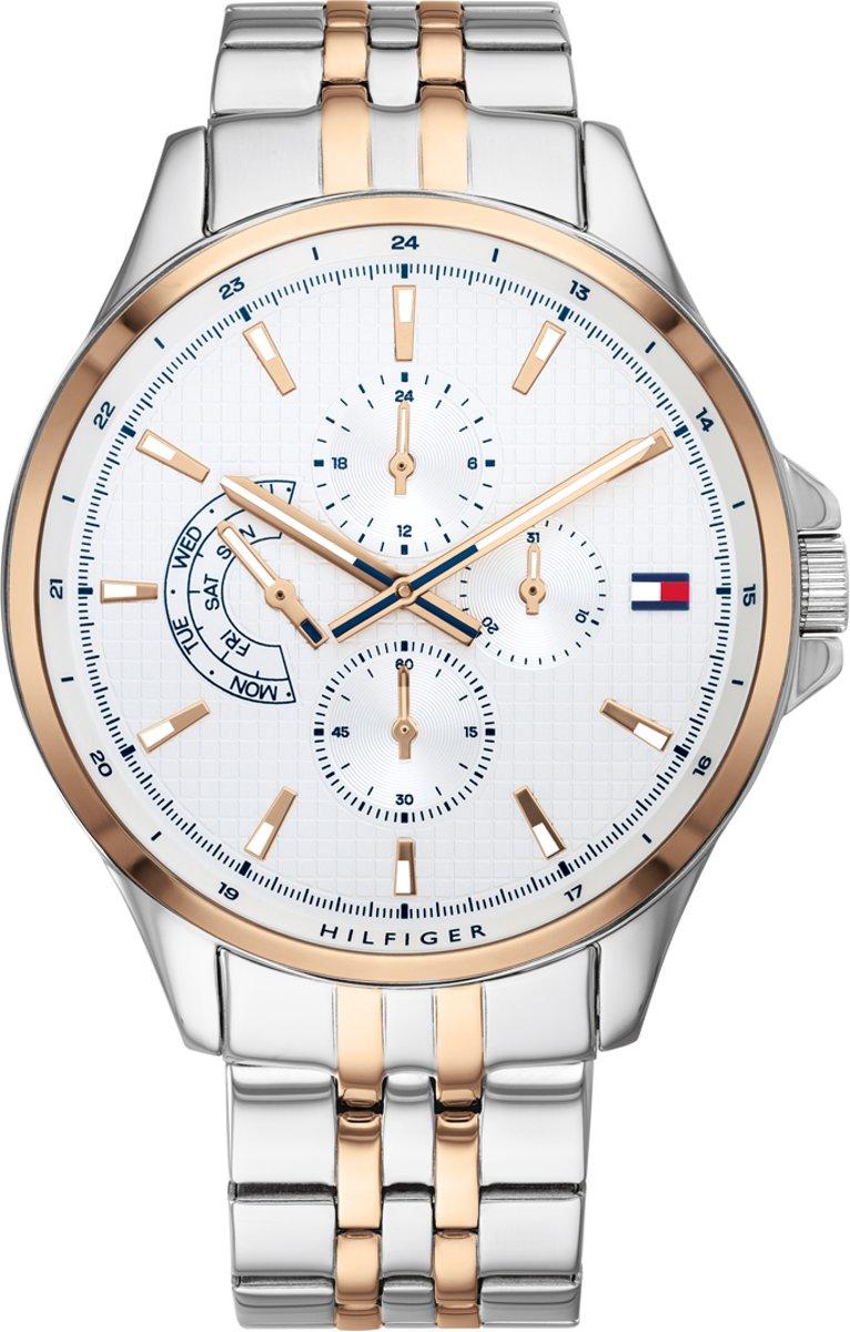 Tommy Hilfiger TH1791617 Horloge - Staal - Zilverkleurig - Ø 44 mm kopen