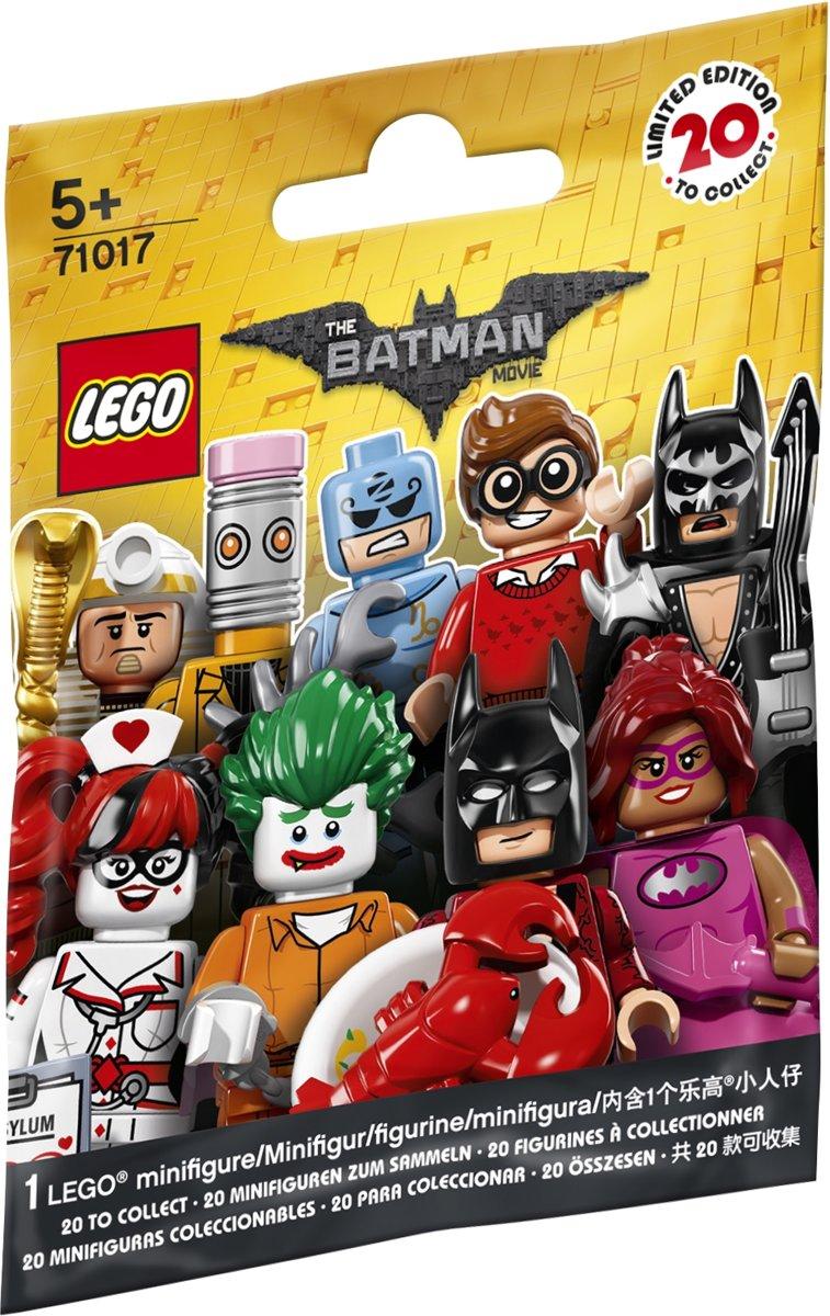 Lego Minifigures Batman Movie 71017 Doos Van 60 Stuks Series Box Of Speelgoed