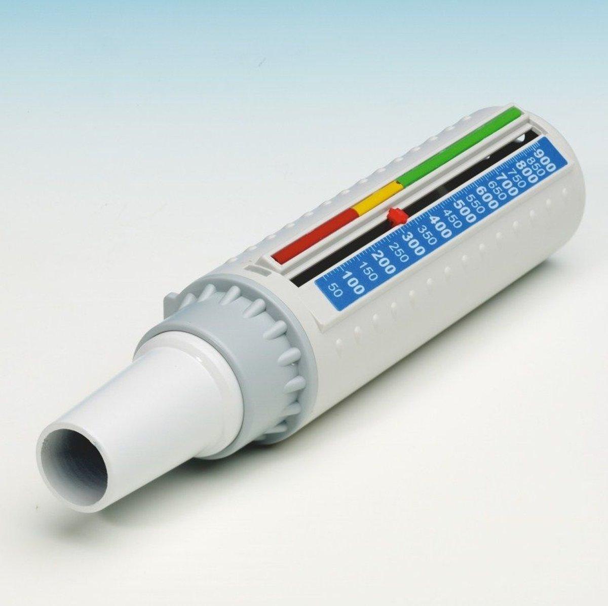 Uitadem krachtmeter COPD