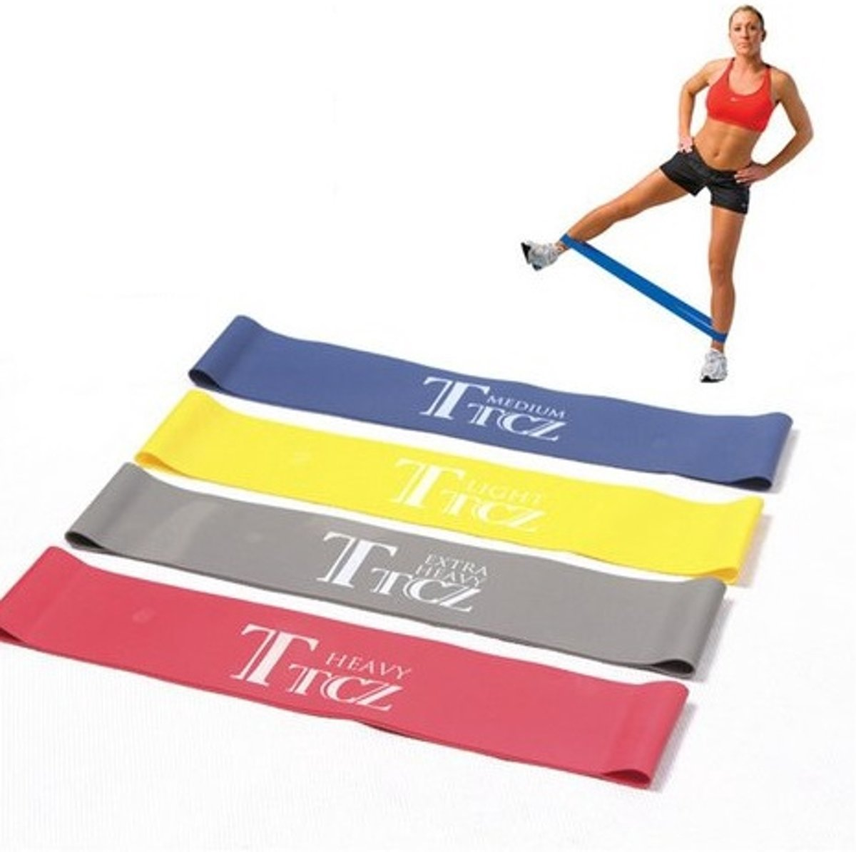 Fitness Elastiek Set - Resistance Power Band Tube - Fitnessbanden / Weerstandskabel kopen