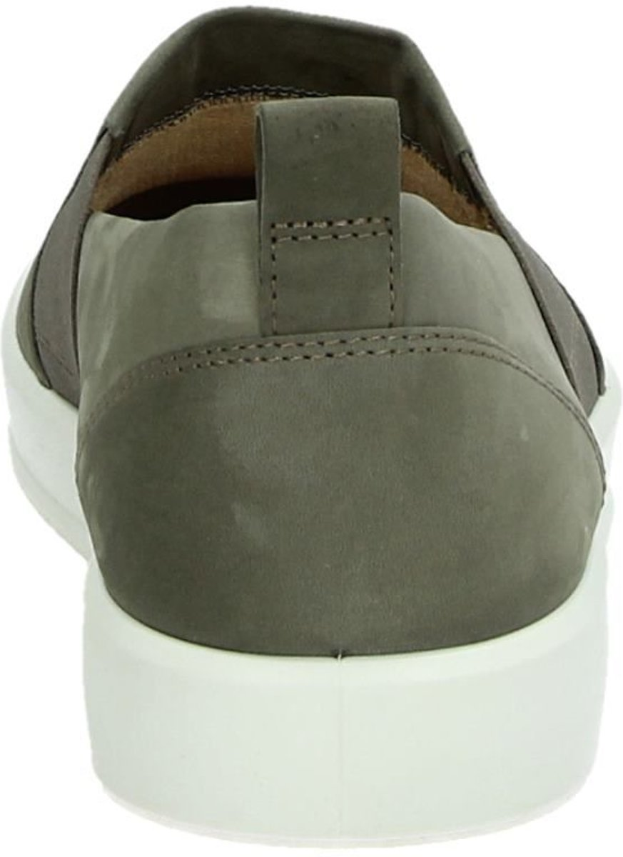 Taupe Instappers ECCO Soft 8