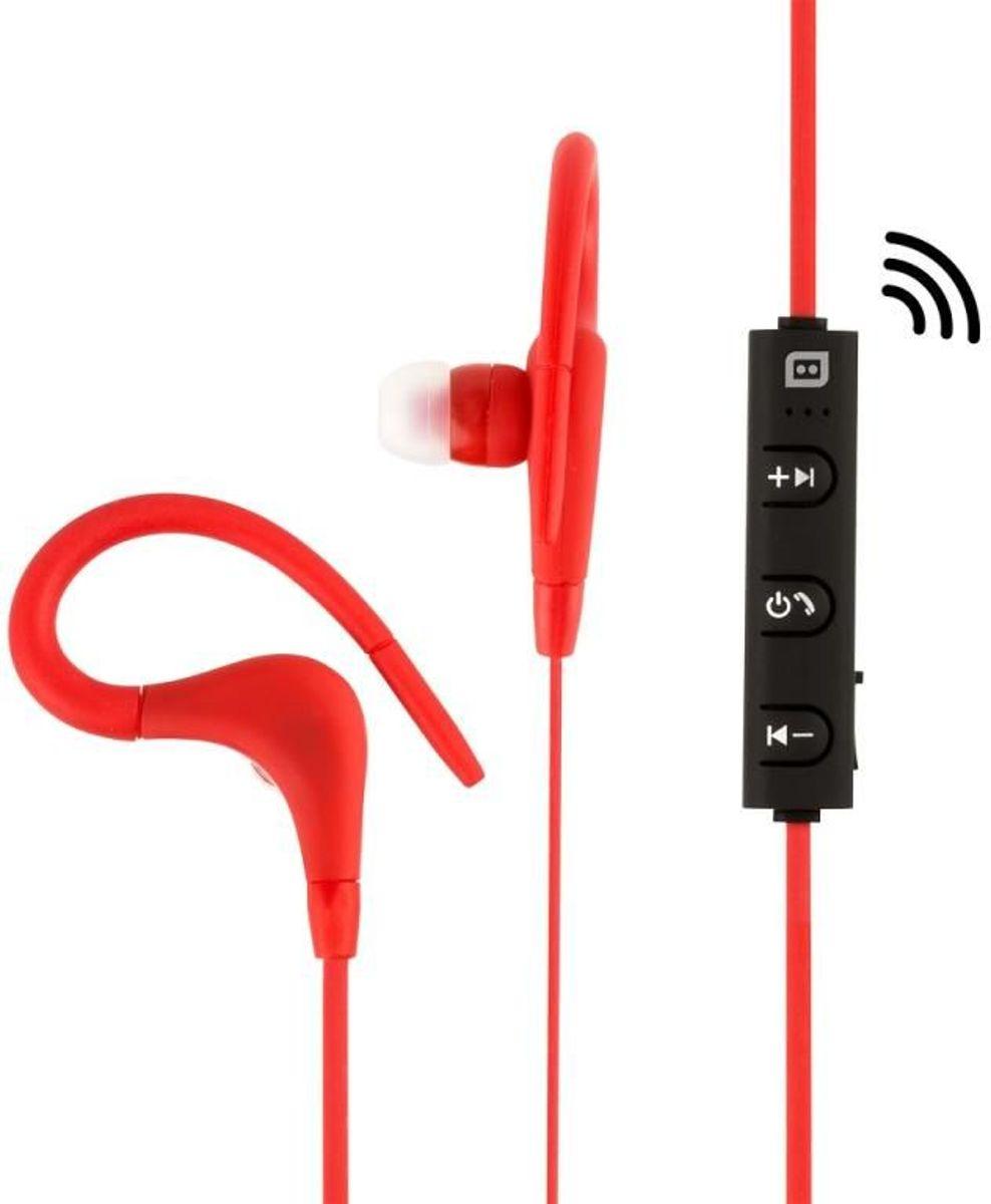 Konix Sport in ear koptelefoon - Bluetooth - Rood