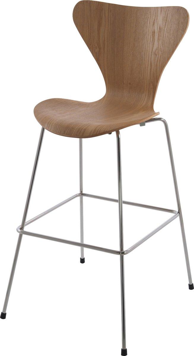 lounge stoel butterfly series 76cm naturel kopen