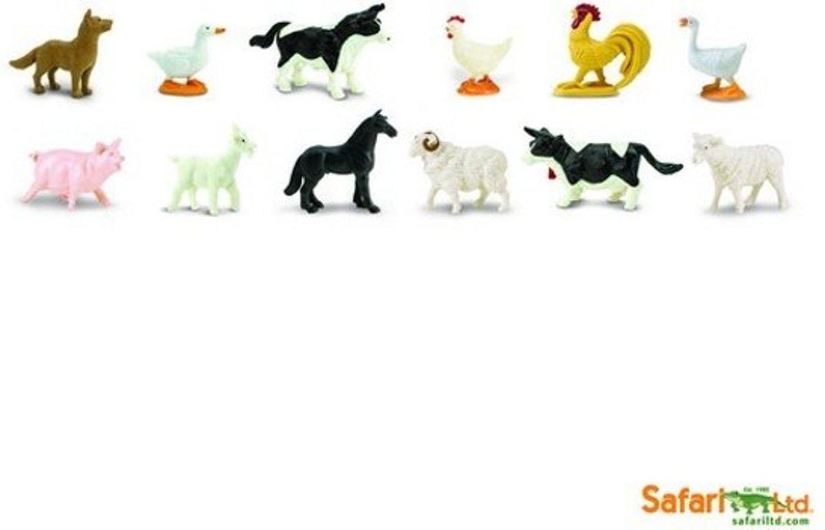 boederij dieren Minifiguren 12 stuks kopen