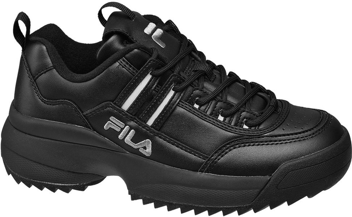 5fca7ae5f59 Top Honderd | Fila Dames Zwarte Chunky Fila sneaker - Maat 41 - Fila