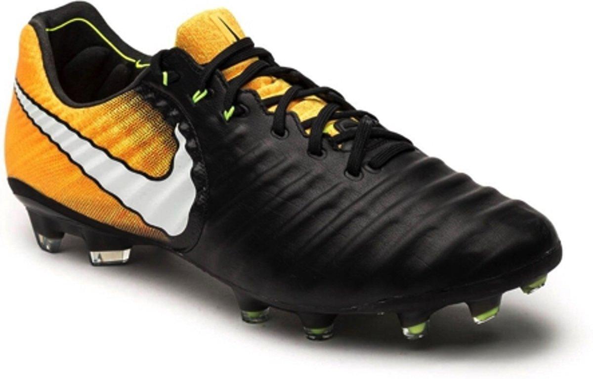 buy popular f30b9 cc034 bol.com | Nike Tiempo Legend FG - Voetbalschoenen - Heren - Maat 10.5 -  Zwart - oranje