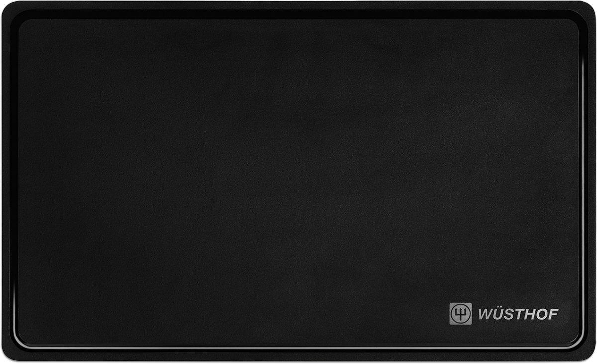 Wüsthof snijplank 53x32cm zwart kopen
