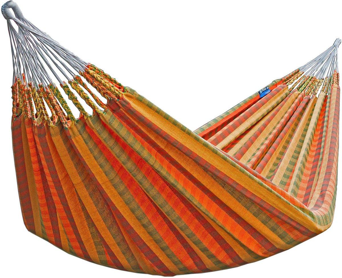 Hangmat Standaard 200 Kg.Potenza Morena Twee Persoons Hangmat Uit Colombia Draagkracht 200 Kg