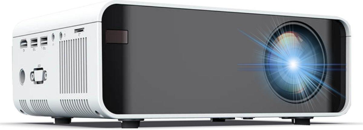 Mini beamer - Miniprojector met 2400 lumen - Videoprojector - Overheadprojector Ondersteunt 1080P Full HD - Projector kopen