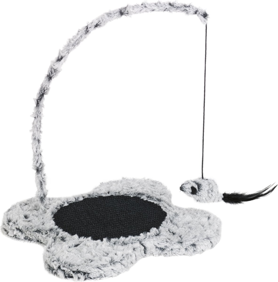 Nobby Krabmeubel Magnetic - Kat - Met speelmuis - 31 x 40 cm - Grijs