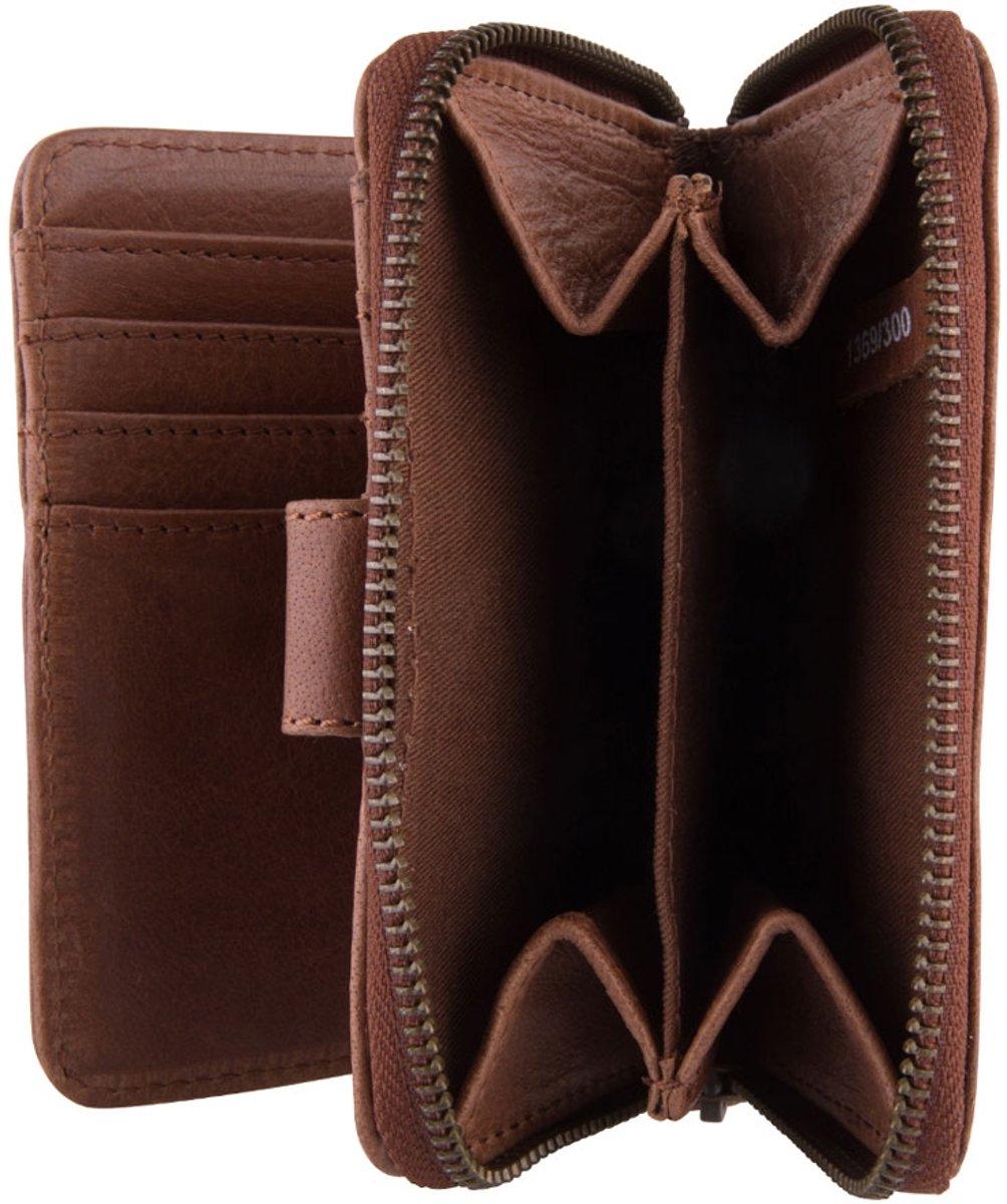 61145da6181 bol.com   Cowboysbag Haxby - Portemonnee - Cognac