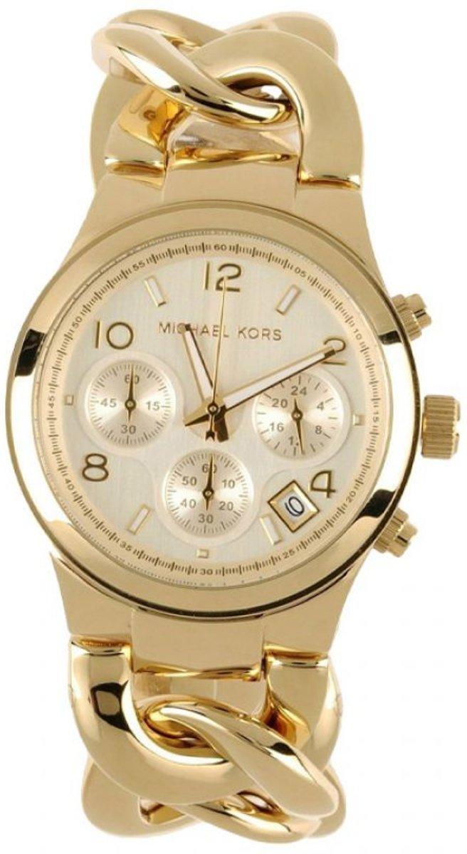 Michael Kors MK3131 Horloge Staal Goudkleurig Ø 38 mm