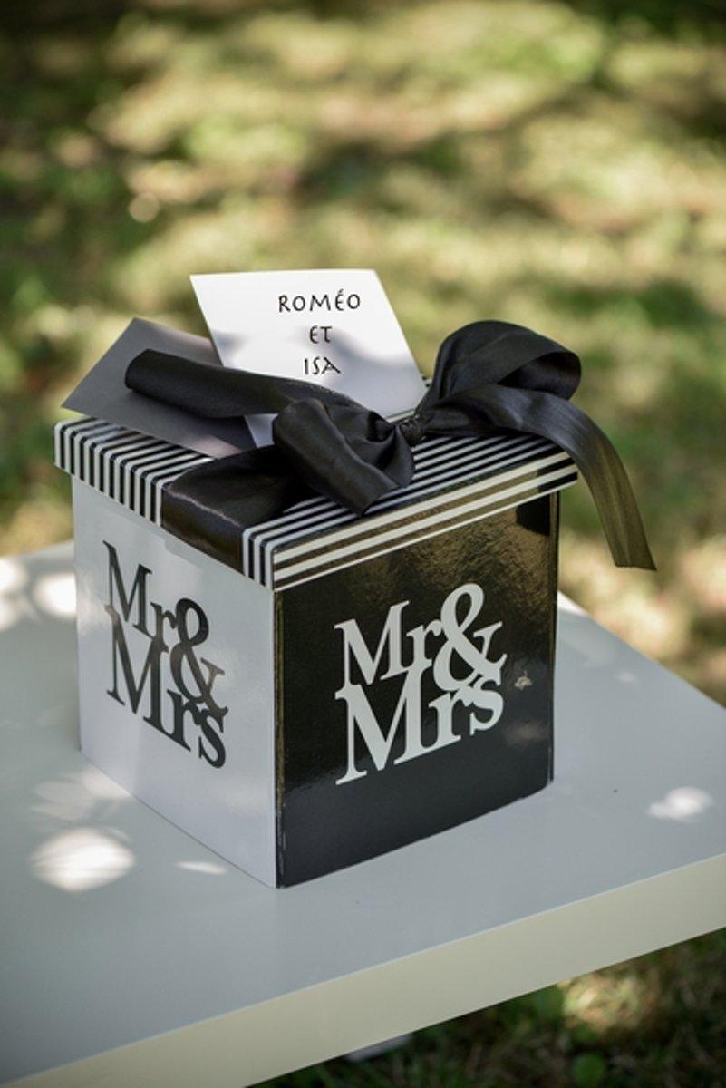 Santex Enveloppendoos Mr & Mrs kopen